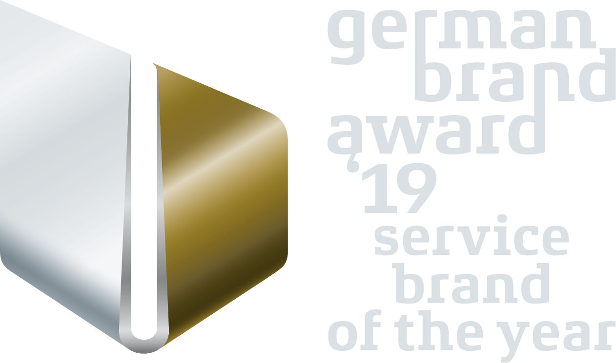 German Brand Award Winner 2019 Service Brand of the Year